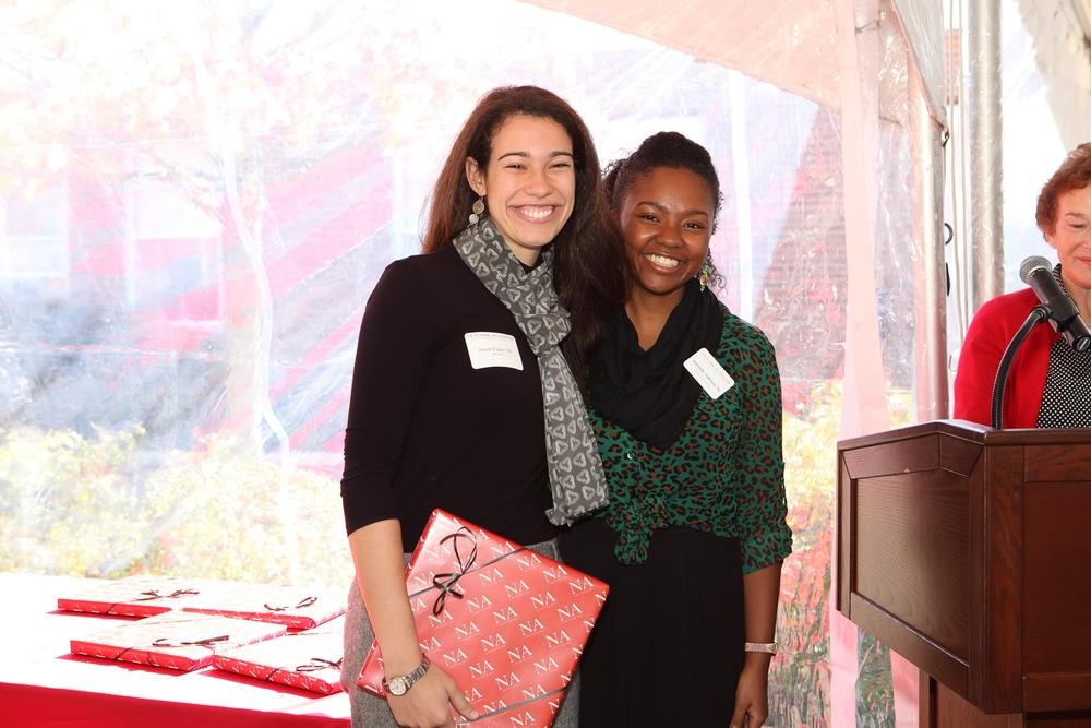 Awards ceremony. Photo courtesy of Newark Academy.
