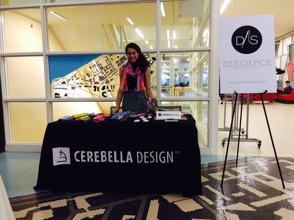Cerebella Design table at the MIT Koch Institute