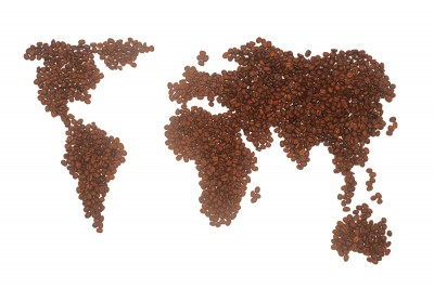 coffee world globe