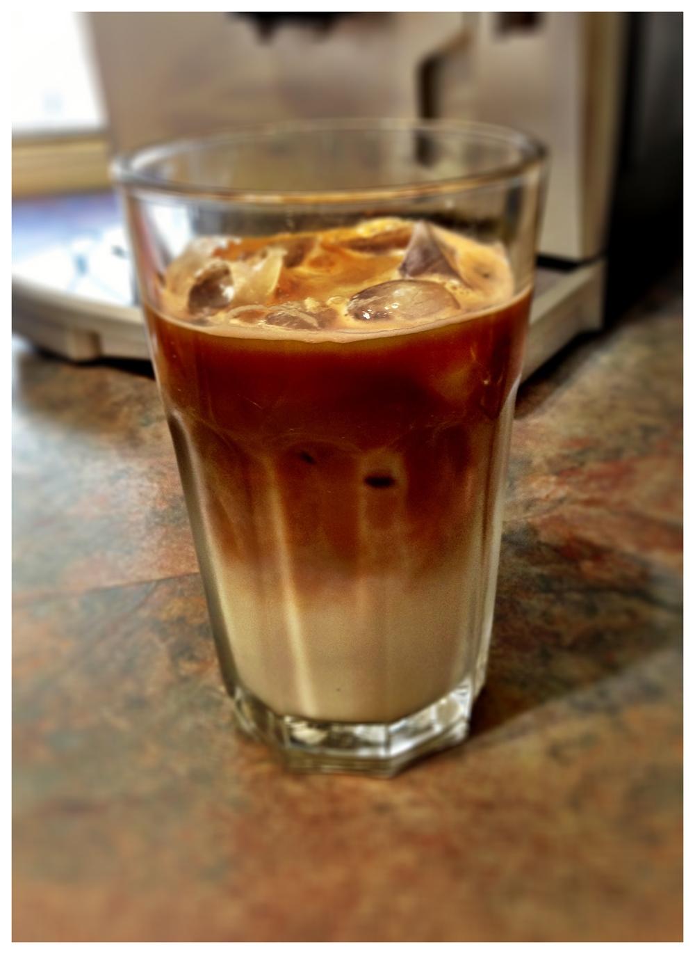 iced latte machine