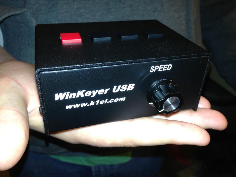 K1EL USB Winkeyer (It is a must have tool)