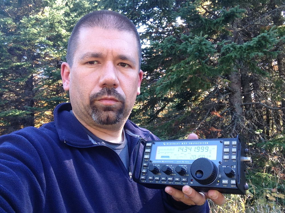 NG0R with an Elecraft KX3