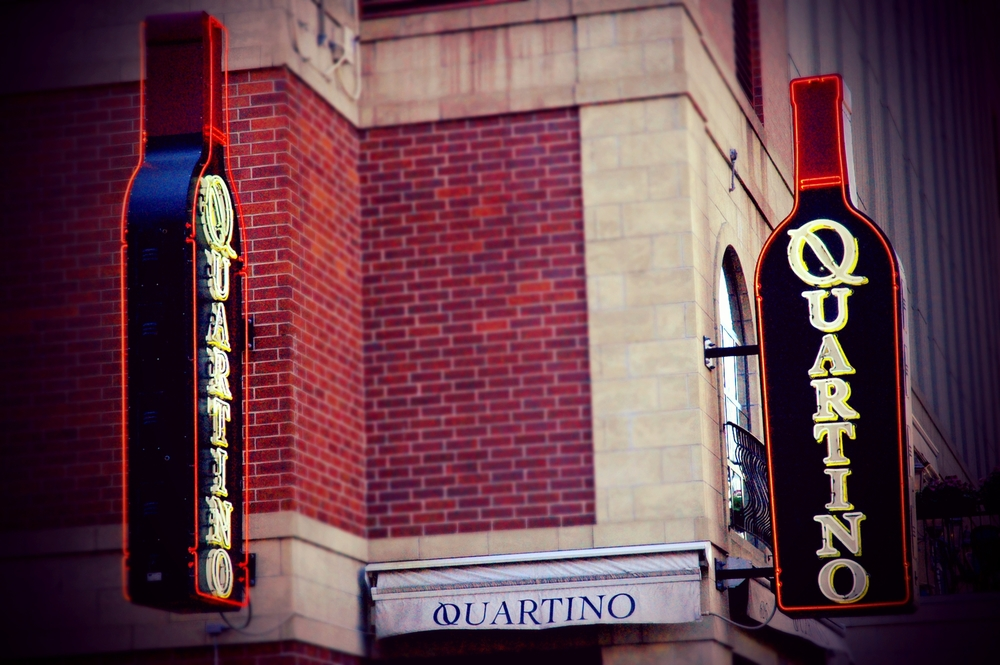 Quartino Restaurante is a bustling downtown restaurant and wine bar. Chef John Coletta developed a menu featuring Italy's authentic regional specialties including delicious Neapolitan thin crust pizza.