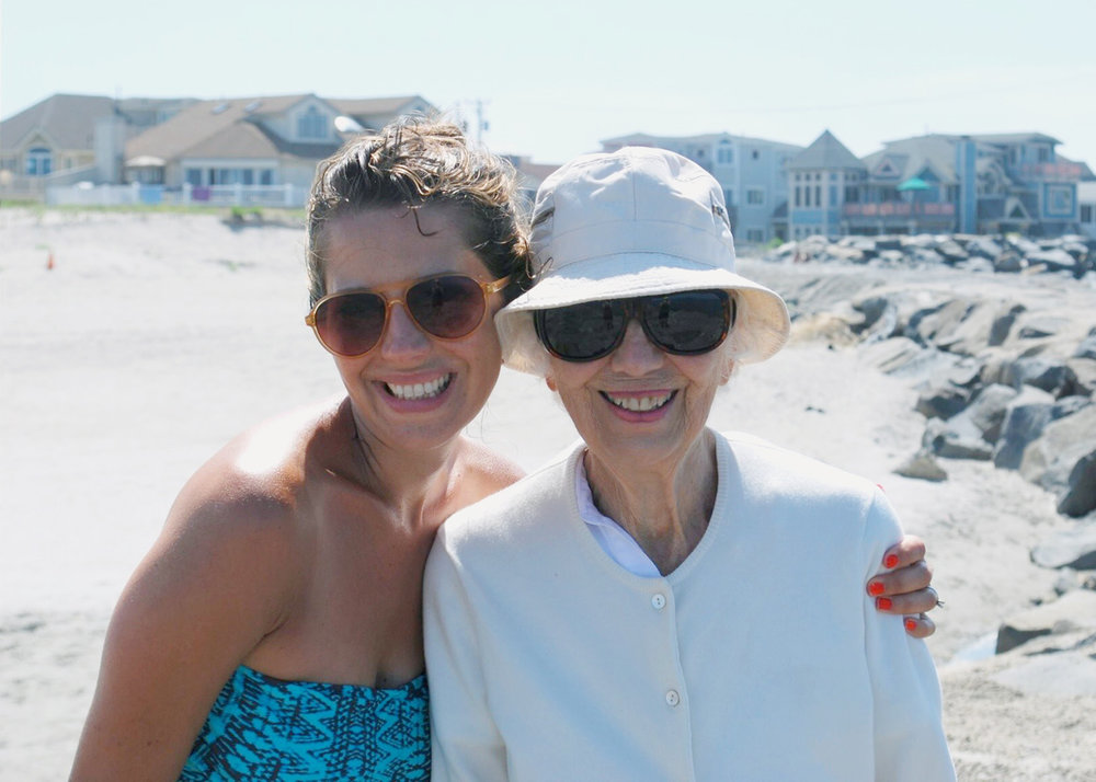 Avalon, NJ... one of Grandmom's favorite places. I hope that heaven has endless beaches for her to walk along.