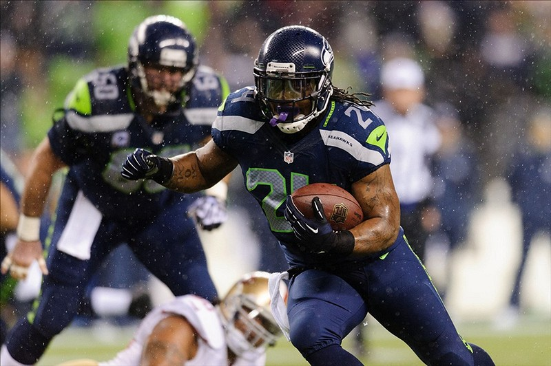 MARSHAWN LYNCH , SEATTLE SEAHAWKS