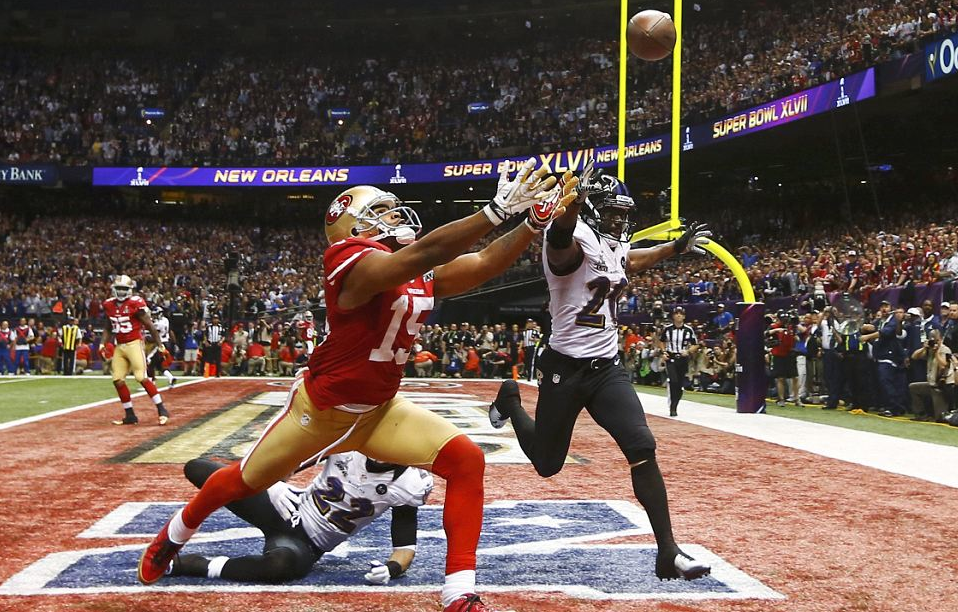 MICHAEL CRABTREE,  SAN FRANCISCO 49ERS (Reuters)