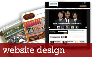 Click here to view Website Design Portfolio