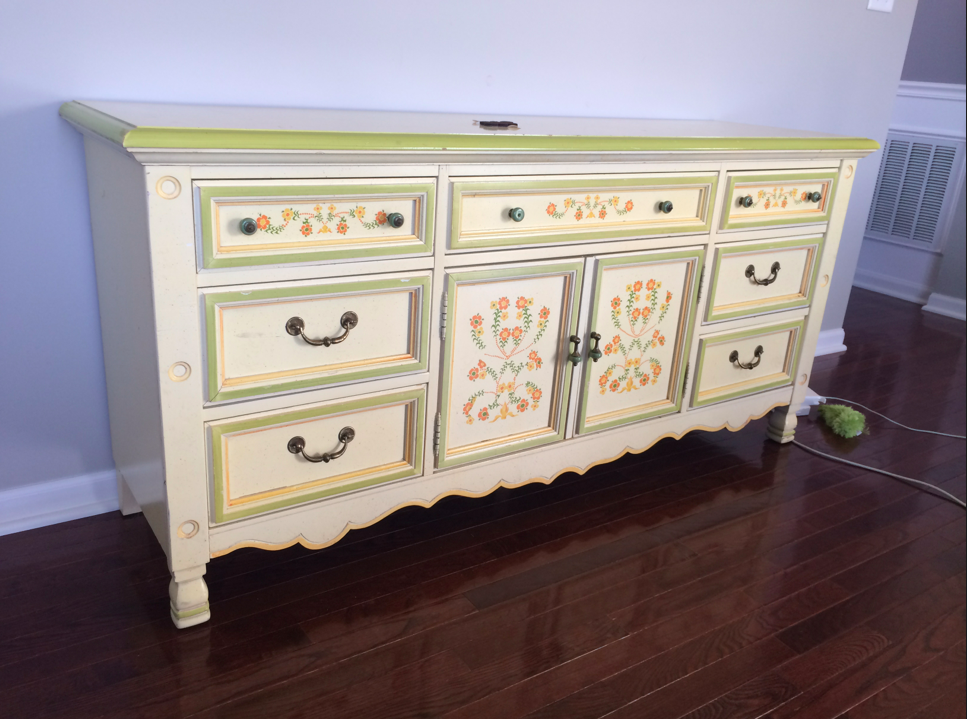 diy buffet yard furnituremakeover sale white rainonatinroof dresser gold stylish turned navy com