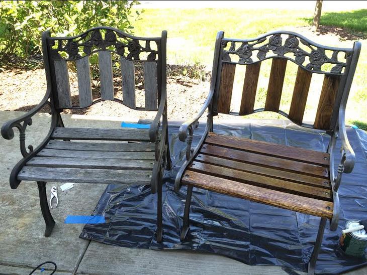 Refinishing Outdoor Patio Furniture Katie Moritz Designer Photographer Hammered Dulcimer
