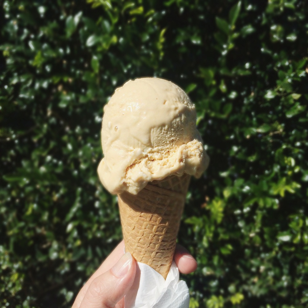 Salted Caramel Gelato from Messina