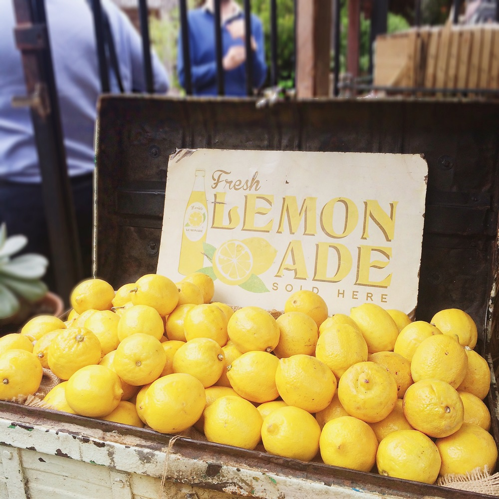 Lemons at The Grounds