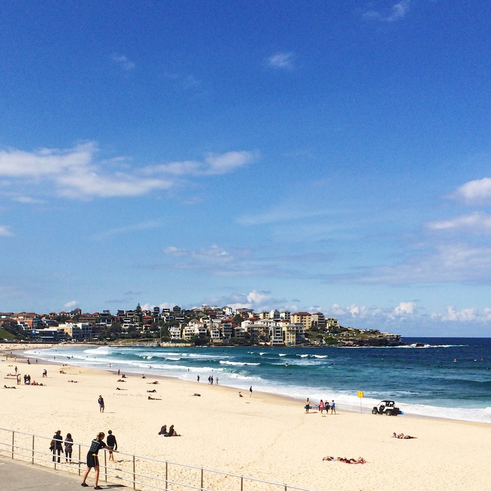 Bondi Beach; postcard perfect.