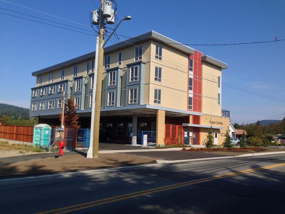 M'akola Housing 'Hope Centre' in Sooke, BC