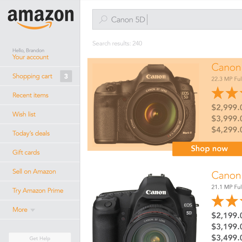 Rethinking Amazon.com Redesign
