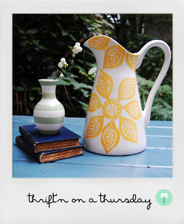 mint_stripes_pattern_vessel_floral_flower_yellow_pattern_pitcher_thrift2.jpg