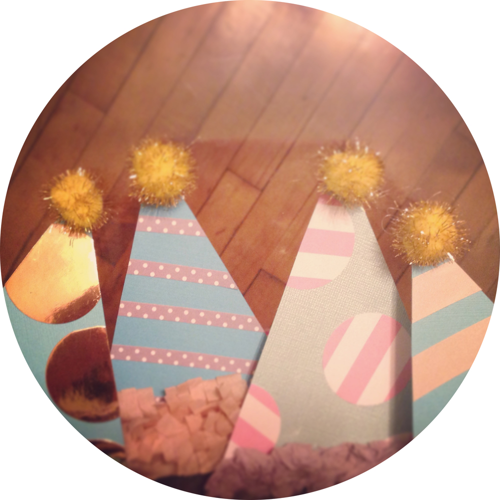 gold_pink_grey_turquoise_party_hats_diy_crafts.jpg