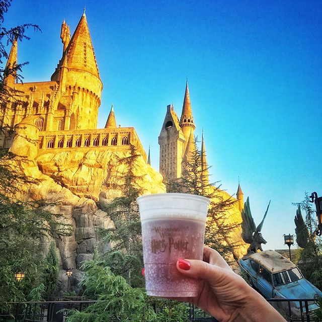 That's Butterbeer people... and we may have had a little too much... 🍻😁