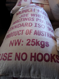 Bags and bags of malt