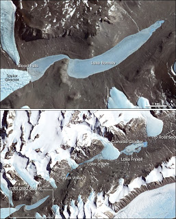 Satellite image of Taylor Valley (from Wikipedia)