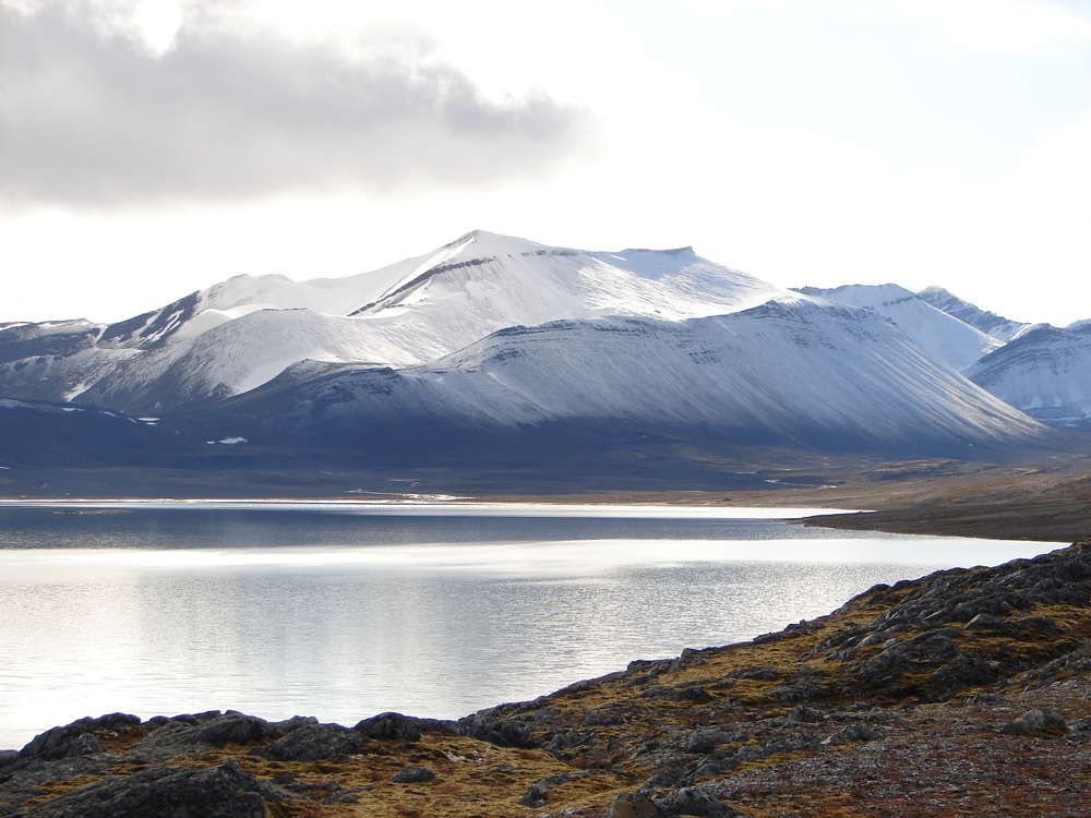Lake Linne in Svalbard
