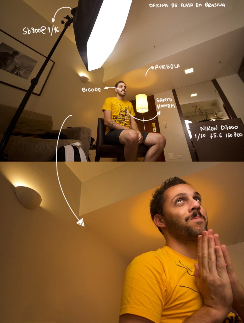 A gente tem sempre que direcionar o centro da luz pro assunto da foto? Não necessariamente. Perceba