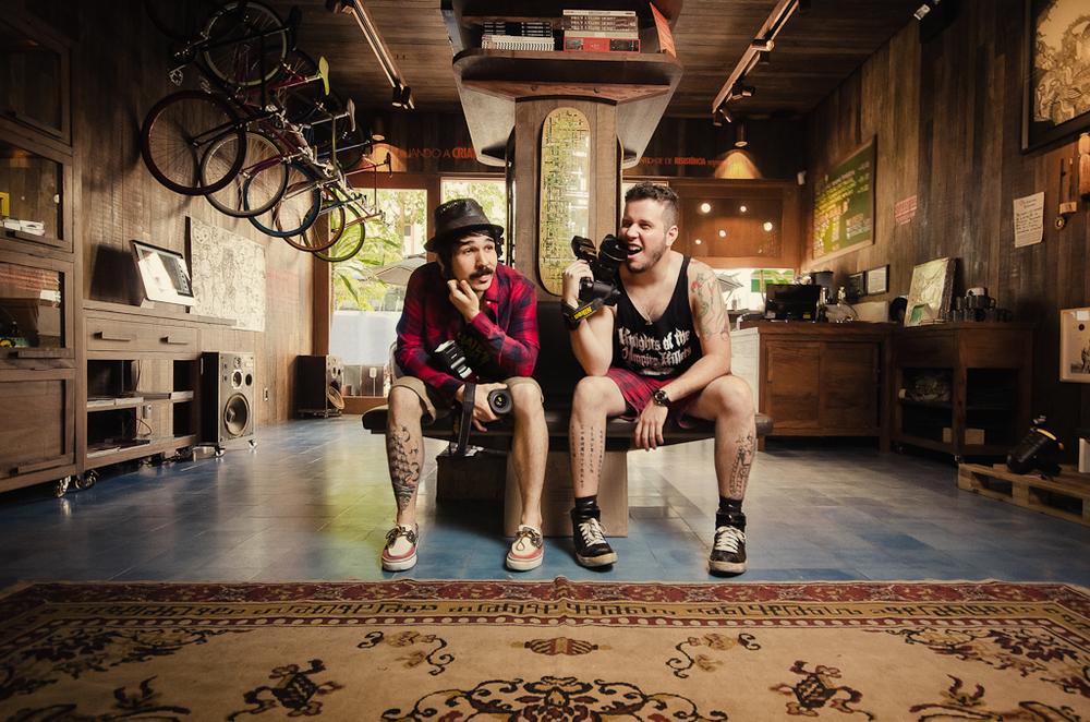 Fernando Schlaepfer e Rodrigo Esper, I Hate Flash - para Inked Magazine