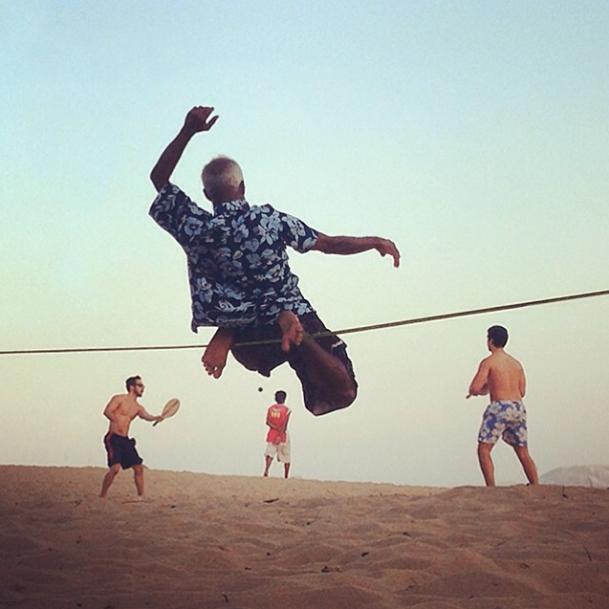 """""""un ballet brésilienne"""", Praia de Ipanema — 2013"""