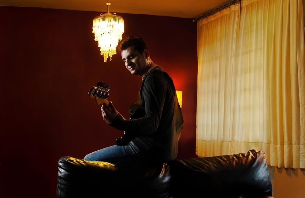Marcos Natto, músico - Divulgação e capa de CD