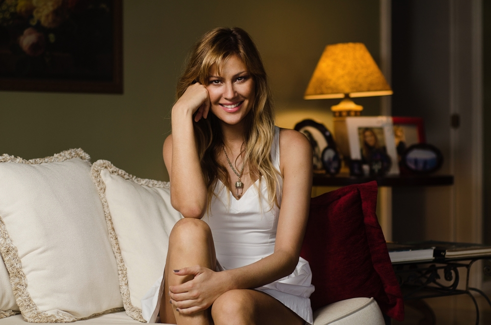 Ellen Jabour, modelo e apresentadora - para revista Gol