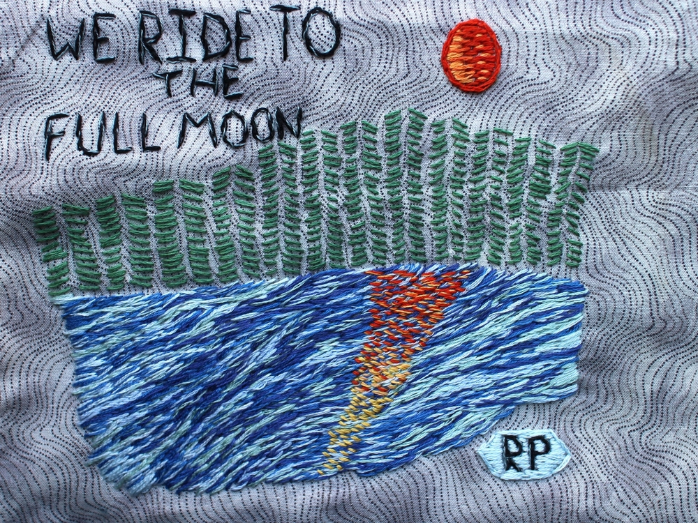 We Ride to the Full Moon