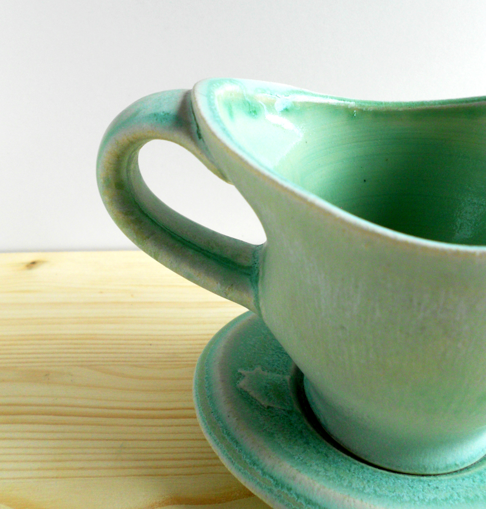 Reflection Cup & Saucer (detail)