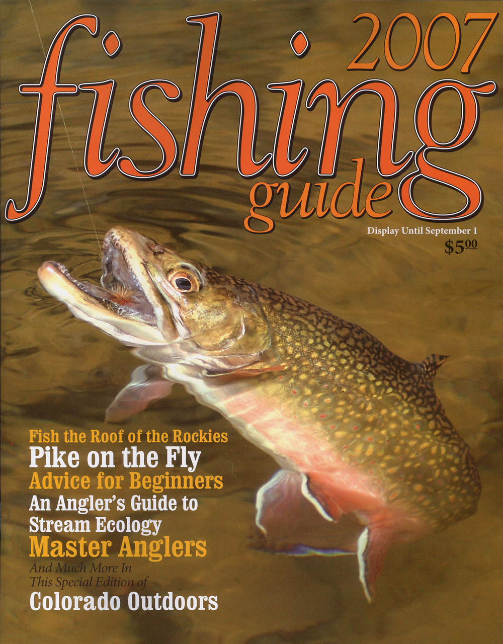 Colorado Outdoors Fishing Guide