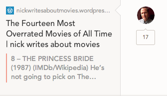 Curt being a real _________. (insert your own adjective based on your love of The Princess Bride.)