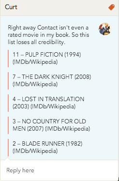 Here is my overwhelming case as to why this list stinks, and the Princess Bride is NOT overrated.