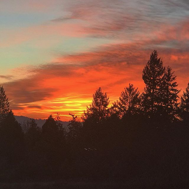 Just another #sunset in #oregon. #pdx #portland