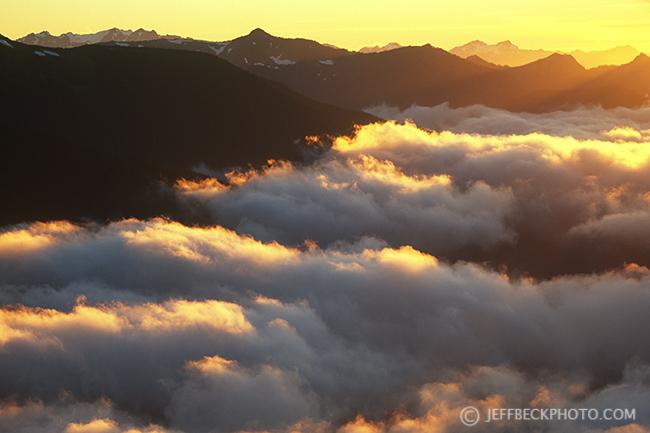 Blue Mountain Sunset