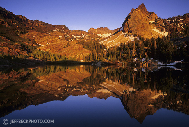 Alpenglow Reflection