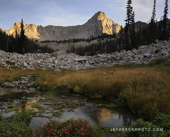 The Pfeifferhorn, Lone Peak Wilderness, Utah