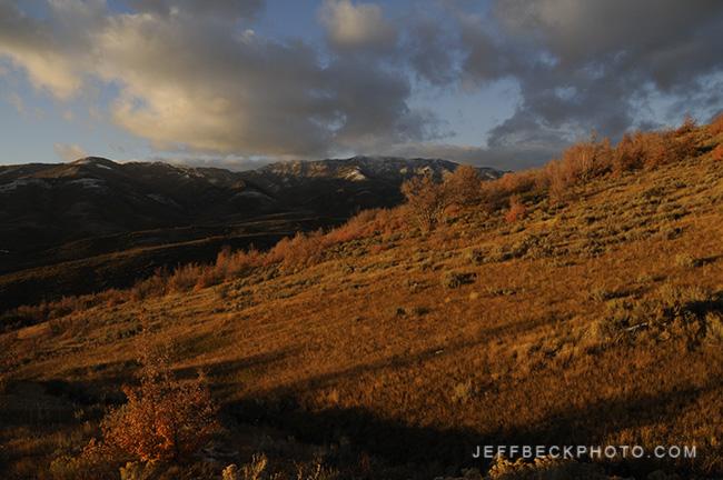 Lookout Peak from Little Mountain, Utah