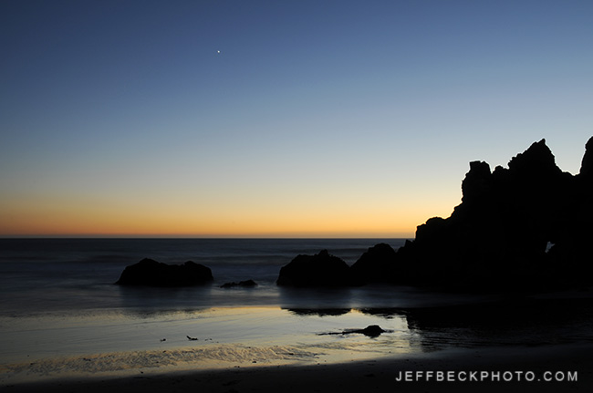 Pfeiffer Beach Twilight, Big Sur, California