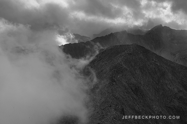 View from the Top of the Pfeifferhorn, Lone Peak Wilderness, Utah