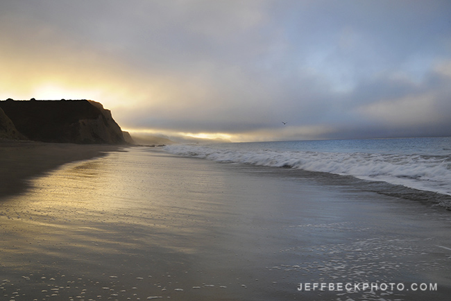 Sunrise Solitude, Point Reyes, California