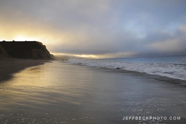 Sunrise Solitude, Point Reyes, California