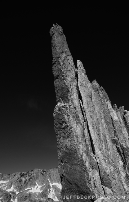 Now that's a knife-edge ridge, Lone Peak Wilderness, Utah