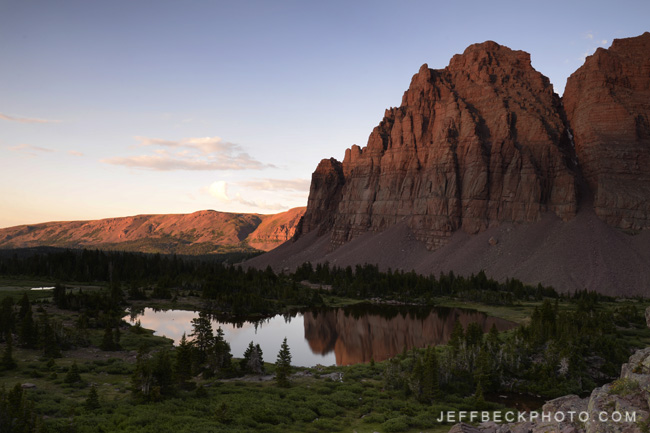 Red Castle, High Uintas Wilderness, Utah