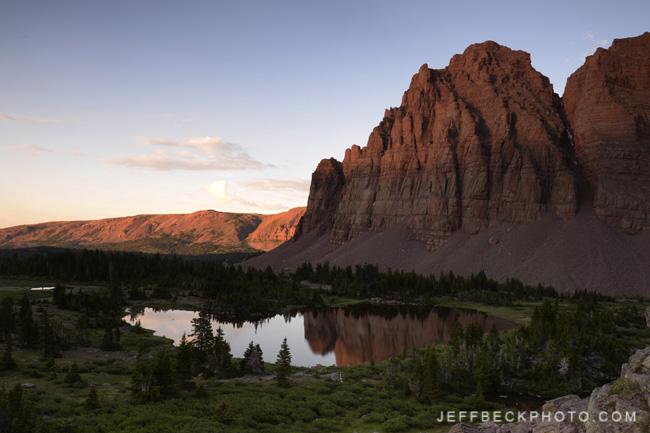 Red Castle, High Uintas Wilderness, Utah