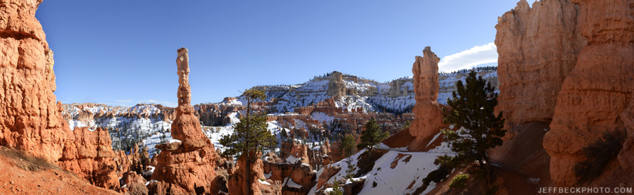 Peekaboo Loop Panorama, Bryce Canyon National Park, Utah