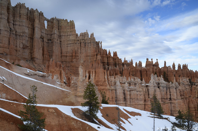 Wall of Windows, Peekaboo Loop, Bryce Canyon National Park, Utah