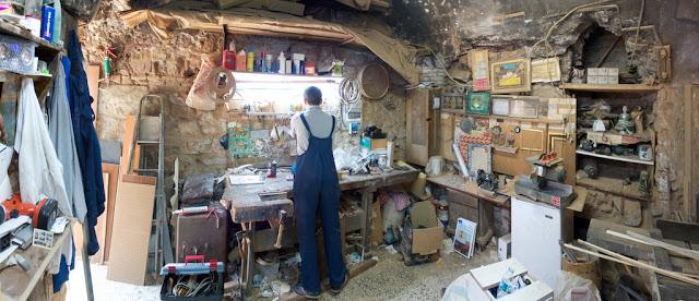 Carpentry Studio. Cebci Han.