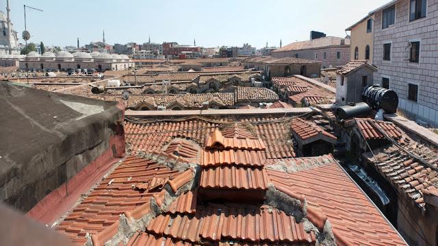 High above the Kapalı Çarşı